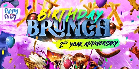Party n Paint's Birthday Brunch!! tickets