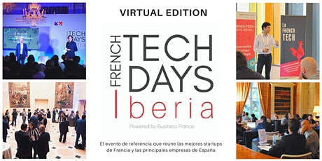 FRENCH TECH DAYS IBERIA 2020 - VIRTUAL EDITION entradas
