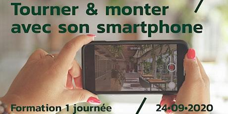 Formation // Tourner & monter avec son smartphone tickets