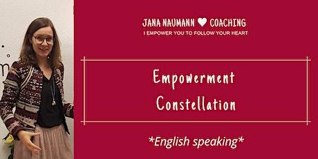 English speaking Online Empowerment Constellation Tickets