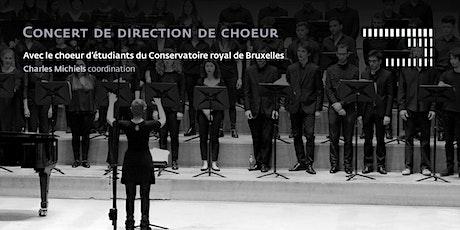 Concert de direction de choeur billets