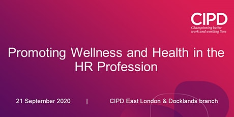 Promoting Wellness and Health in the HR Profession tickets
