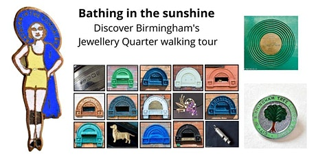 Bathing in the Sunshine Discover Birmingham's Jewellery Quarter tickets