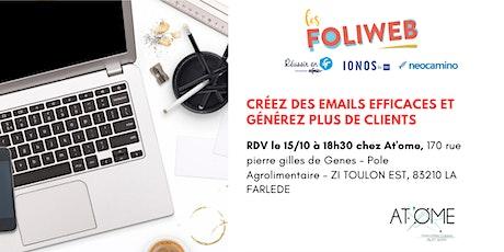 [Toulon] Créez des emails efficaces et générez plus de clients billets