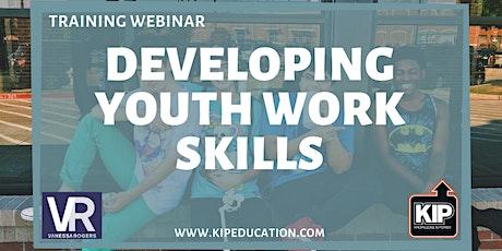 Webinar: Developing Youthwork Skills tickets