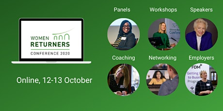Women Returners Back to Your Future UK & Ireland Conference 2020 tickets