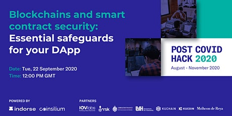 Blockchains and smart contract security: Essential safeguards for your DApp tickets