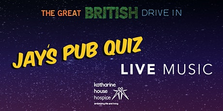 The Great Charity Night, Featuring Jay's Virtual Pub Quiz (Doors 1745) tickets