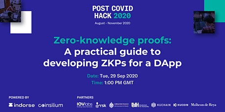 Zero-knowledge proofs: A practical guide to developing ZKPs for a DApp tickets