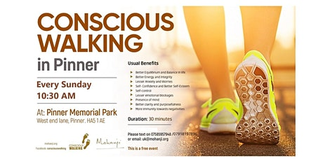 Conscious Walking in Pinner - A Powerful Dynamic Meditation Technique tickets