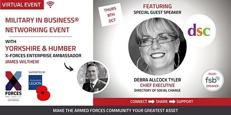 Military in Business Virtual Networking Event- Yorkshire and Humber tickets