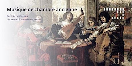 Musique de chambre ancienne billets