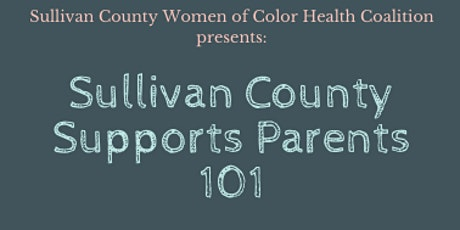Sullivan County Supports Parents 101 tickets