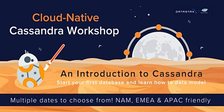 Cloud-Native Cassandra Workshop: Introduction to Cassandra for Developers tickets