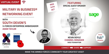 Military in Business Virtual Networking Event- South Devon tickets