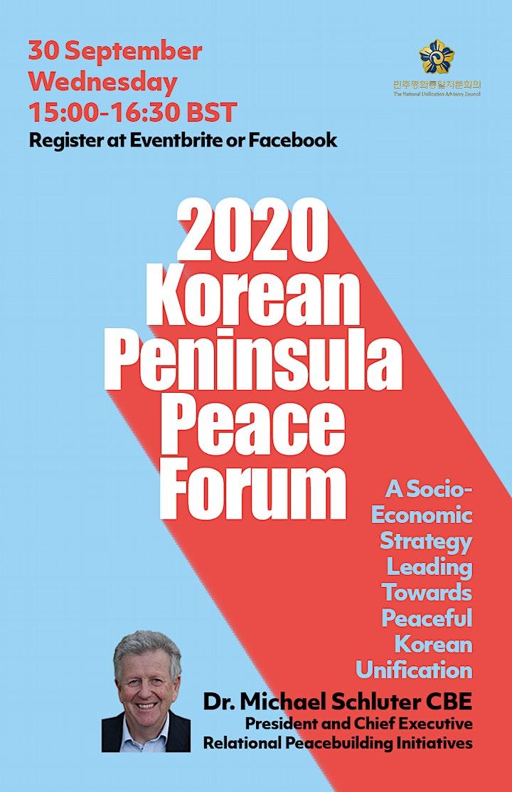 2020 Korean Peninsula Peace Forum image