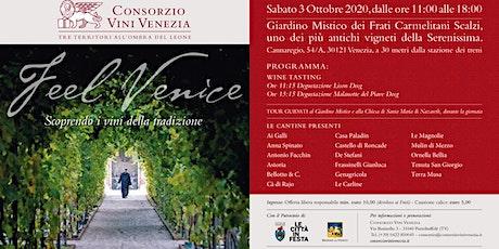 Feel Venice 2020: Scoprendo i vini della tradizion biglietti