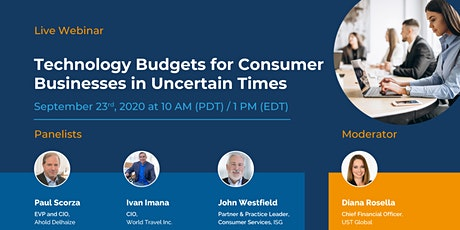 Budgeting for Technology in Uncertain Times tickets