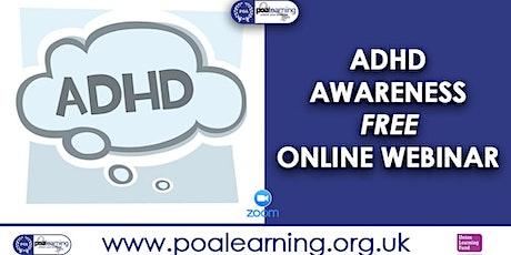 ADHD Awareness tickets
