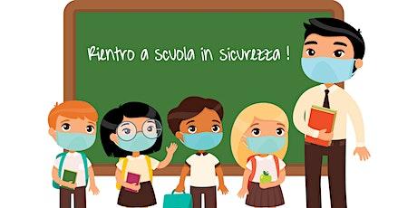 Formazione supporto ritorno a scuola - 2° incontro (tematiche d'igiene) biglietti