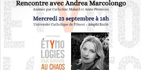 Rencontre avec Andrea Marcolongo billets