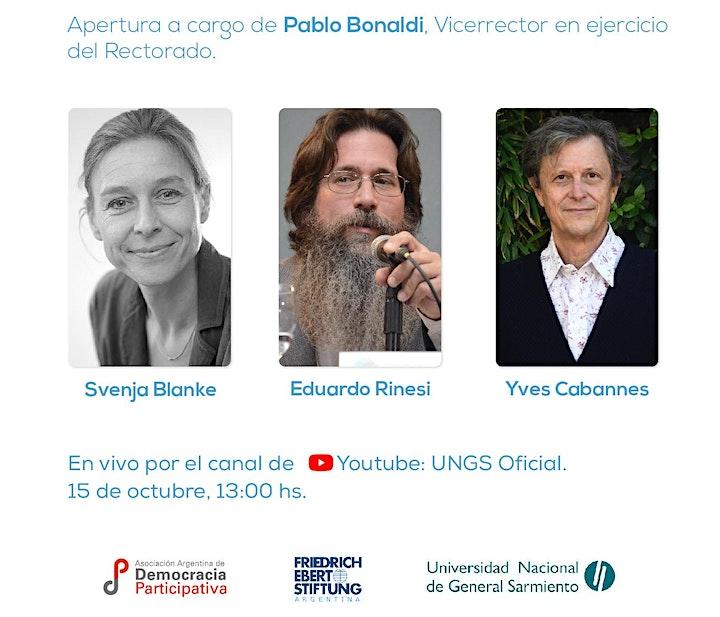 Imagen de Jornadas de Presupuesto Participativo en Argentina