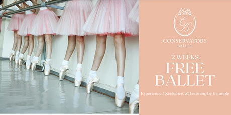 TWO WEEKS FREE Live Ballet Class - Primary FE (for ages 3-5) tickets