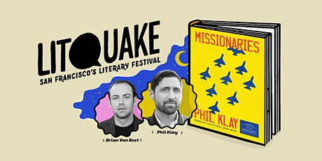 Missionaries: Military Fiction with Phil Klay with Brian Van Reet tickets