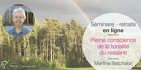 Séminaire en ligne avec Martine Batchelor - 23-25 octobre 2020 billets