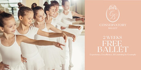 TWO WEEKS FREE Live Ballet Class - FE A/B (for ages 5-7) tickets