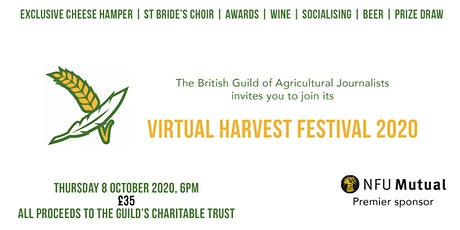 BGAJ Virtual Harvest Festival 2020 tickets