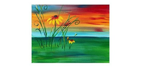 Elsa's On The Border - Rain is a Good Thing - Paint Party tickets