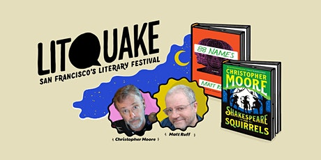 Shakespeare and Lovecraft: Christopher Moore and Matt Ruff tickets