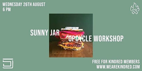 Sunny Jar Upcycle Workshop tickets