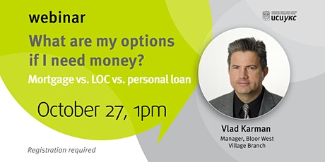 What are my options if I need money?  Comparing different loan types. tickets