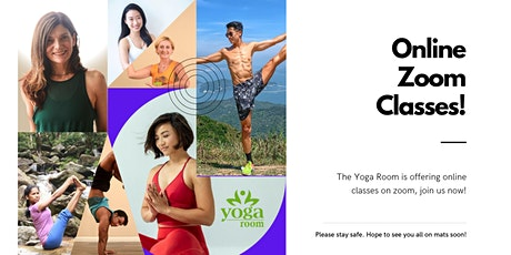 Online Zoom Classes with The Yoga Room