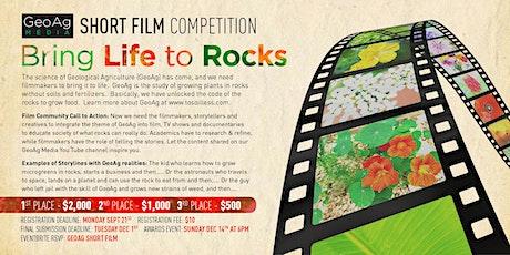 GeoAg Short Film Competition Registration tickets
