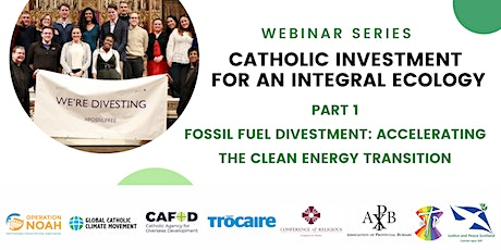 Part 1: Fossil fuel divestment: Accelerating the clean energy transition tickets
