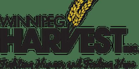 Winnipeg Harvest Team Food Sort Challenge - Join us and be a food hero tickets