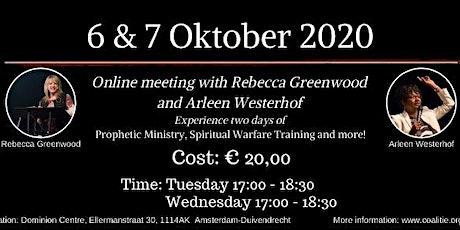 GLORY WARFARE Online meeting with Rebecca Greenwood and Arleen Westerhof tickets