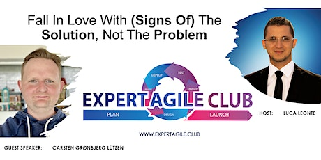 Fall In Love With (Signs Of) The Solution, Not The Problem tickets