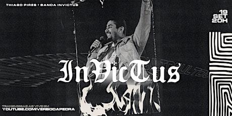 Culto INVICTUS Presencial - 19/09 ingressos