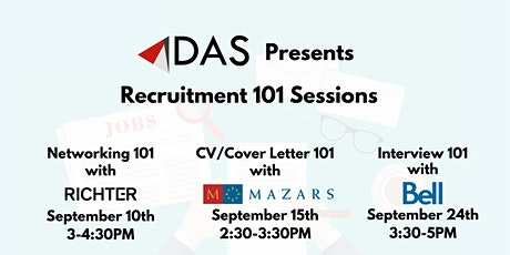 Recruitment 101 Sessions by DAS tickets