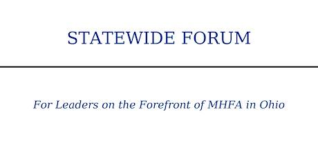 Statewide Mental Health First Aid Forum tickets