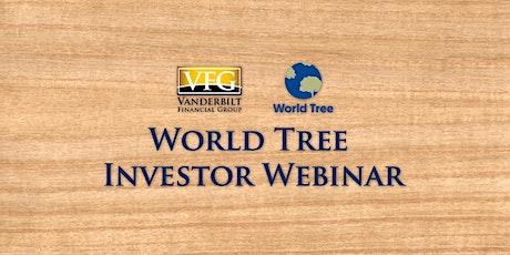 World Tree Investor Webinar tickets