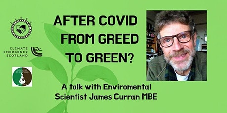After Covid - From Greed to green? tickets