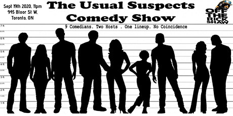 The Usual Suspects Comedy Show tickets