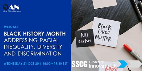 BHM Discussion - Addressing Racial Inequality, Diversity and Discrimination tickets