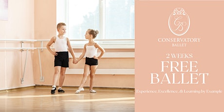 TWO WEEKS FREE Live Ballet Class - Tip Two's (ages 2-3) tickets