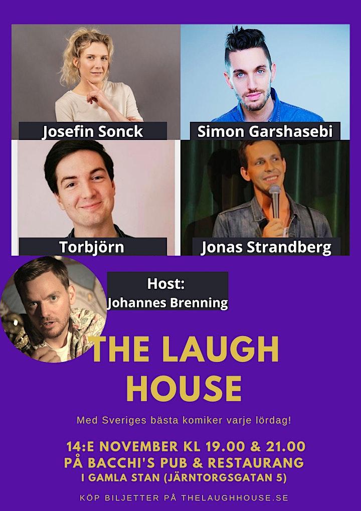 The Laugh House Ståupp Komedi  14:e Nov (21:00) image